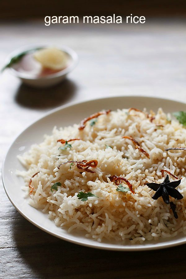 garam masala rice recipe