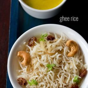 ghee rice, ghee rice recipe