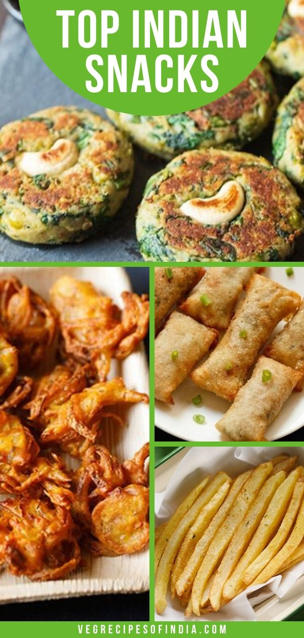 Indian Snacks Recipes