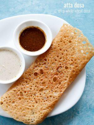 wheat dosa recipe, wheat flour dosa