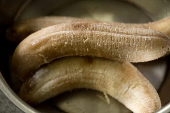 banana for eggless banana pancake recipe