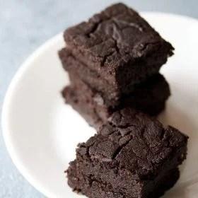 brownie recipe, eggless brownie recipe, chocolate brownie
