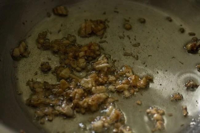 garlic for burnt garlic fried rice recipe