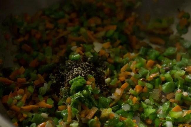 pepper for burnt garlic fried rice recipe