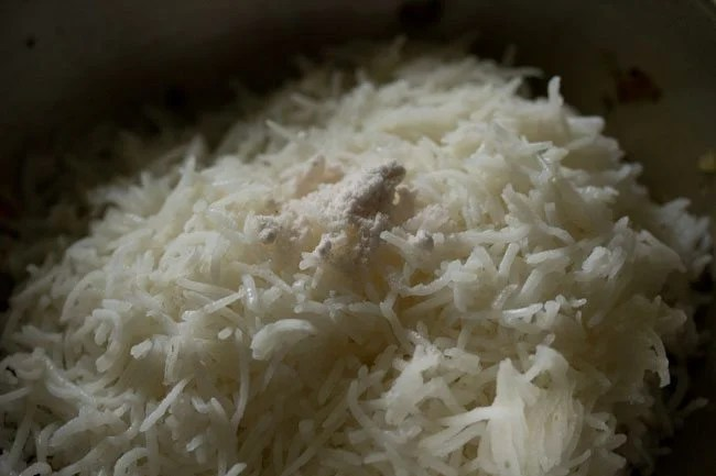 salt for burnt garlic fried rice recipe