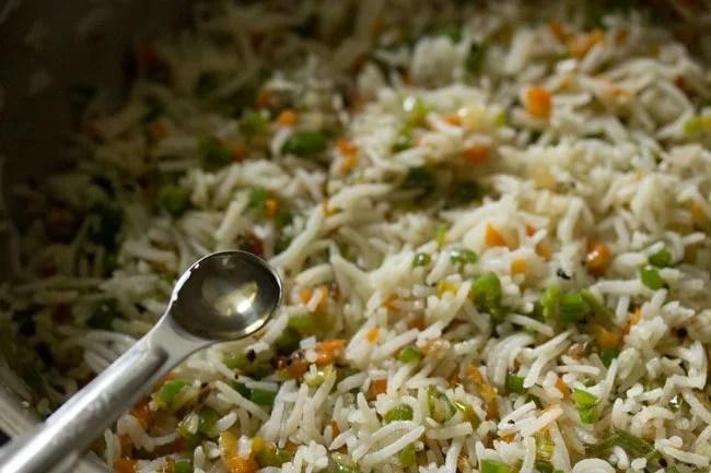 vinegar for burnt garlic fried rice recipe