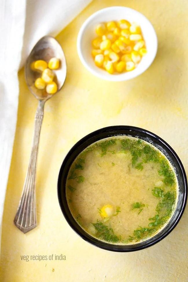 makai shorba recipe