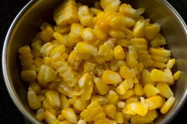 sweet corn for masala corn recipe