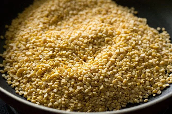 moong dal for making moong dal ladoo recipe