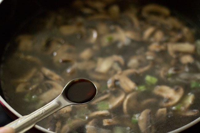 sauce for mushroom soup recipe