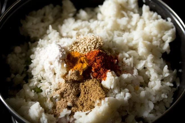 spices for poha cutlet recipe