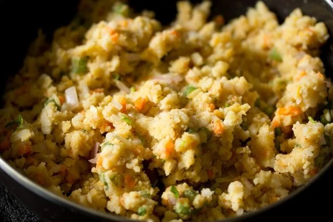 mixture for poha cutlet recipe