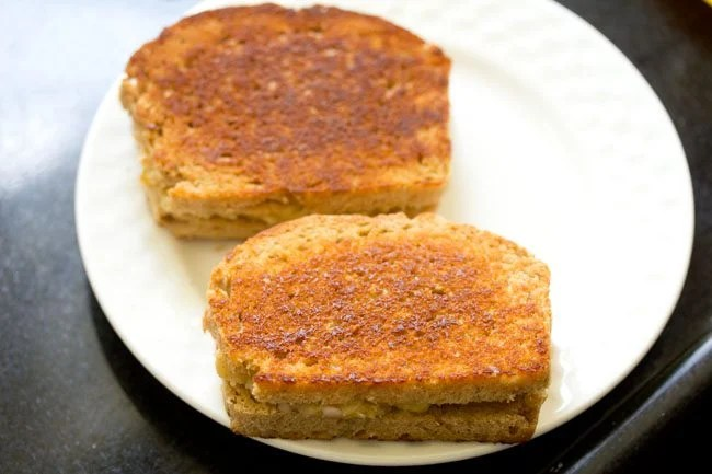 making potato sandwich recipe