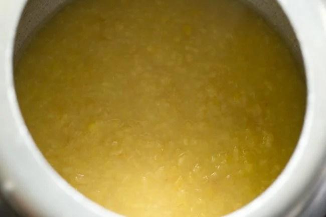 moong dal to make rava Pongal recipe