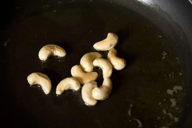 kaju to make semiya kesari recipe