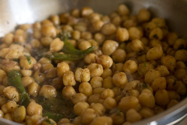 sukhe chole recipe