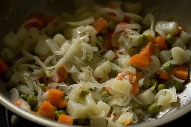 veggies for vegetable puff recipe