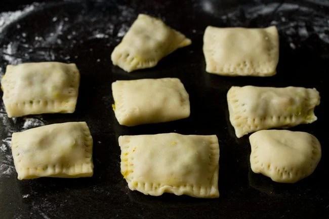 making veg puff recipe