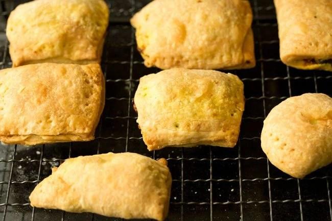 baking - veg puff recipe