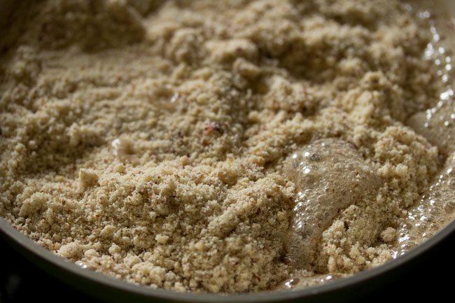 mixture for making kaju badam burfi recipe