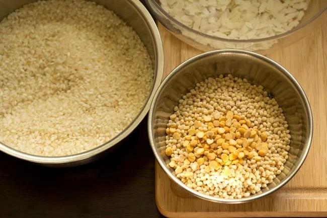 ingredients for ghee roast dosa recipe