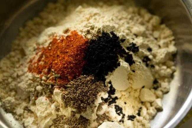 spices for litti chokha recipe