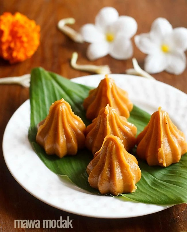 mawa modak recipe