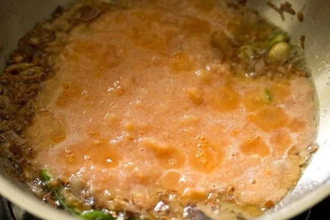 puree for making methi paneer recipe