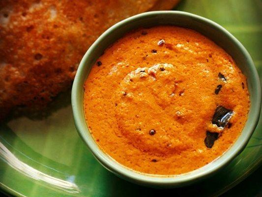 red coconut chutney recipe