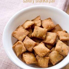 savory shankarpali recipe