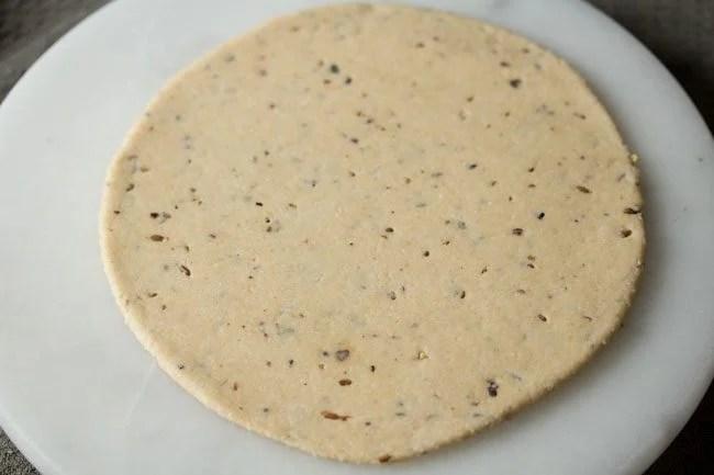 making savory shankarpali recipe