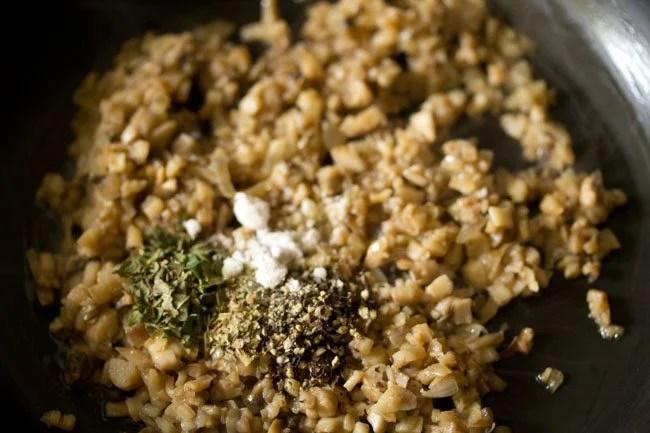 salt for baked stuffed mushrooms