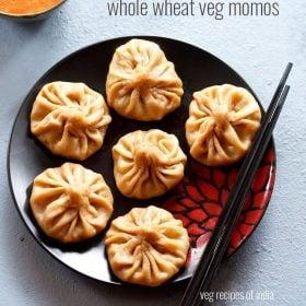 whole wheat veg momos recipe