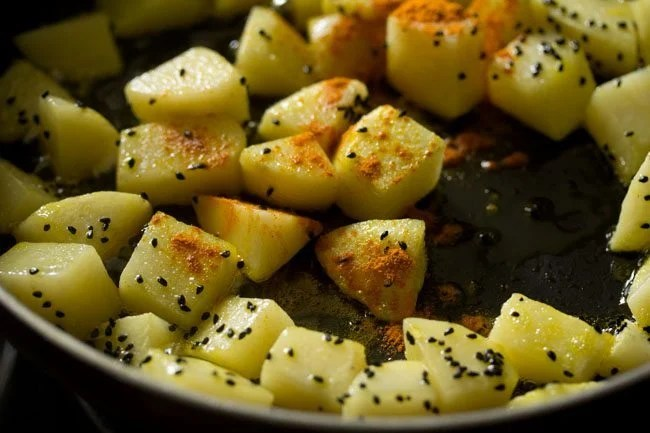 aloo for making aloo posto recipe