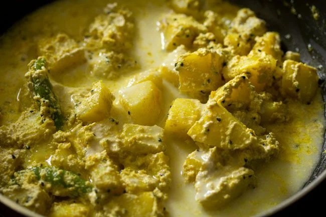 making aloo posto recipe