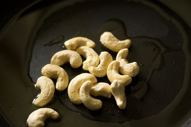 cashew for ash gourd halwa recipe
