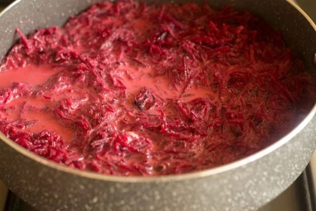 mix beetroot halwa