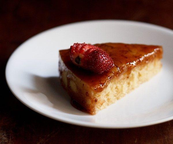 eggless vanilla cake recipe