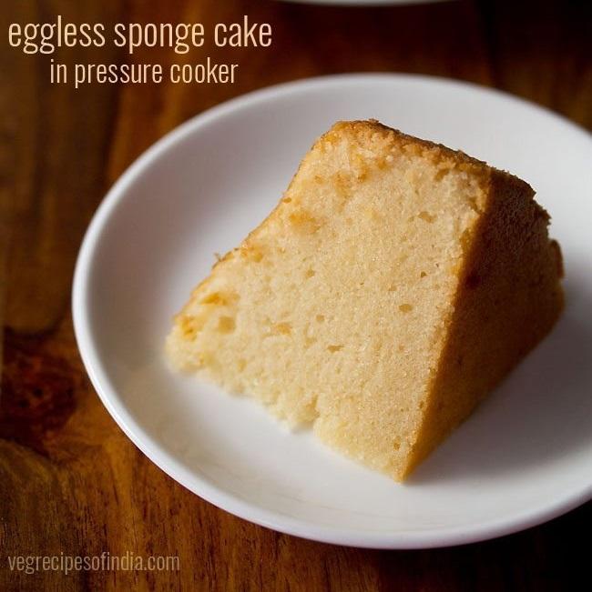 Cooker Cake Sponge Cake Made In Pressure Cooker Dassana S Recipes