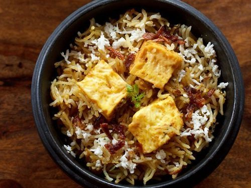 paneer biryani in pressure cooker recipe