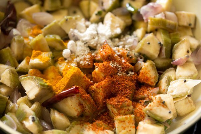 spices for raw banana fry recipe