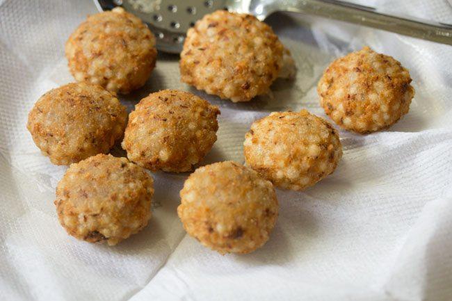 sabudana vada recipe without potatoes