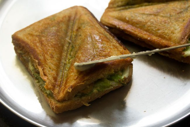 Mumbai cheese toast sandwich recipe