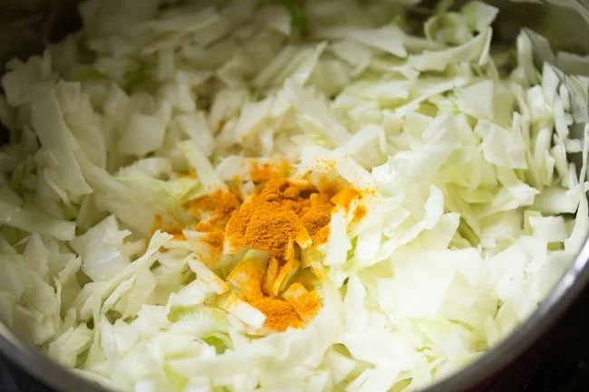 cabbage for cabbage kootu recipe