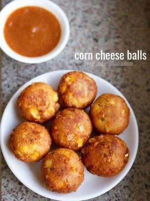 cheese corn balls, corn cheese balls