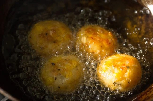 frying - cheese corn balls recipe