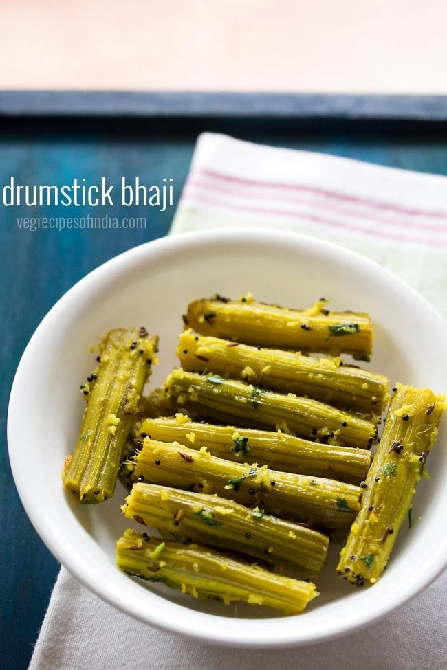drumstick bhaji recipe