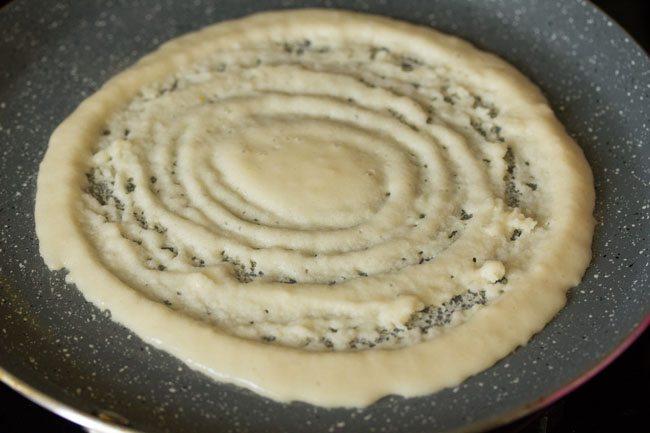 preparing instant dosa recipe