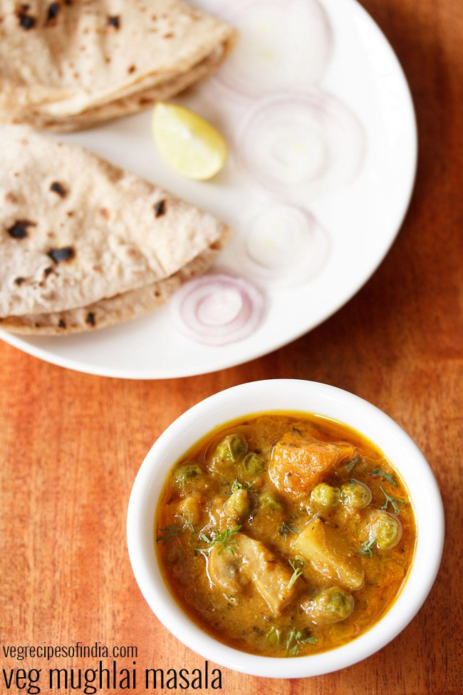 veg mughlai masala recipe