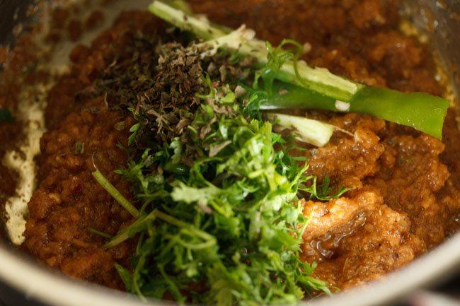 making mughlai style veg masala recipe